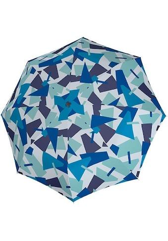 "doppler® Taschenregenschirm ""Fiber Magic Crush, blau"" kaufen"