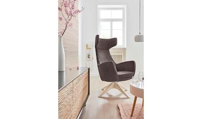 andas Drehstuhl »Alette«, mit Füßen aus massiver Esche, natur-oder wallnussfarben... kaufen