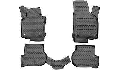 WALSER Passform-Fußmatten »XTR«, VW, Golf VI, Kombi-Schrägheck, (4 St., 2... kaufen