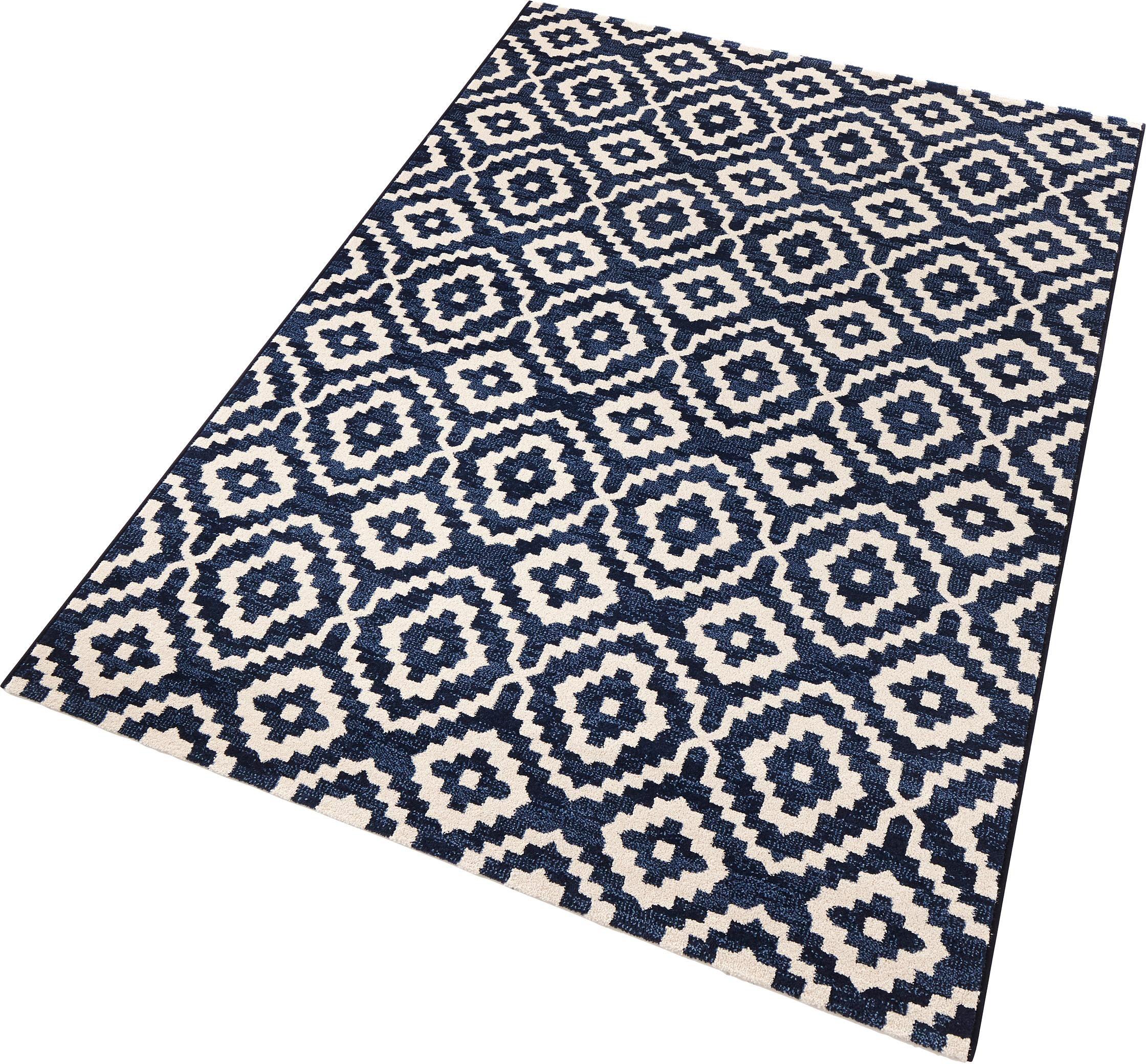 Teppich Skandi SCHÖNGEIST & PETERSEN rechteckig Höhe 9 mm
