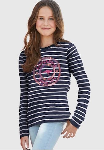 KangaROOS Langarmshirt, mit Paillettenapplikation kaufen