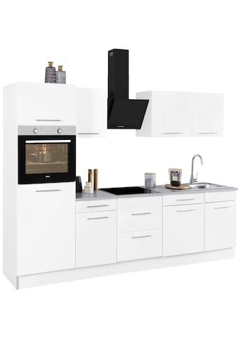 wiho Küchen Küchenzeile »Ela«, mit E-Geräten, Breite 280 cm kaufen