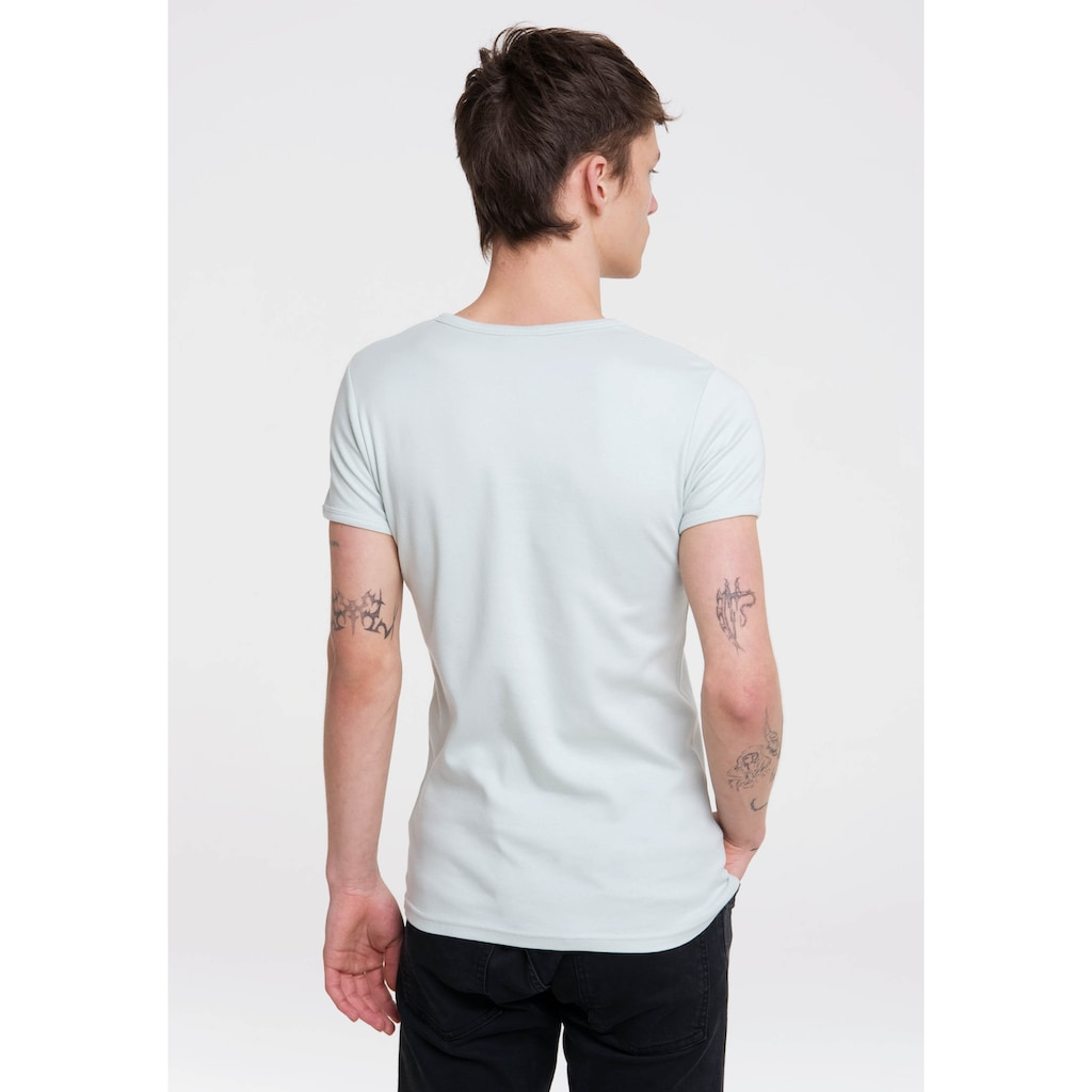 LOGOSHIRT T-Shirt »X-Men«, mit großem Front-Print