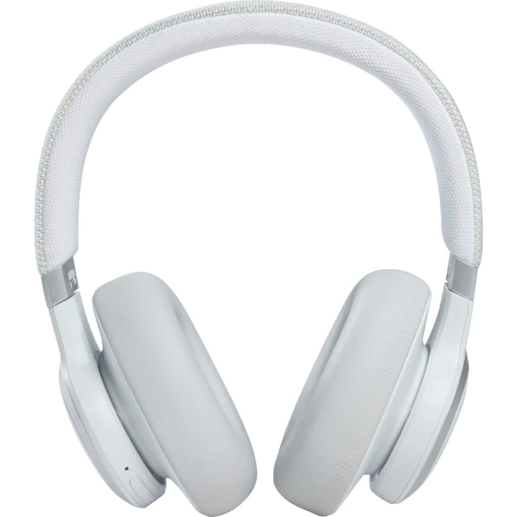 JBL Over-Ear-Kopfhörer »LIVE 660NC Kabelloser«, A2DP Bluetooth-AVRCP Bluetooth-HFP, Freisprechfunktion-Noise-Cancelling-Sprachsteuerung