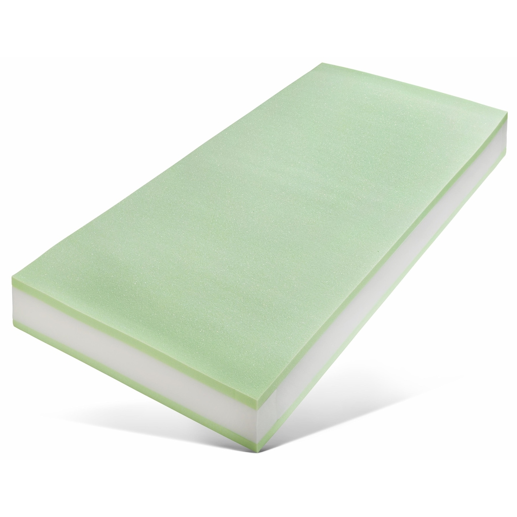 Breckle Taschenfederkernmatratze »Luxus«, 21 cm cm hoch, 530 Federn, (1 St.), 7-Zonen Taschenfederkern, atmungsaktiv, Komfortschaumpolsterung, Made in Germany