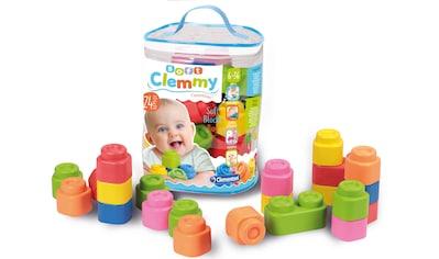 Clementoni® Spielbausteine »Clemmy Soft - Bausteine im Beutel«, (24 St.) kaufen