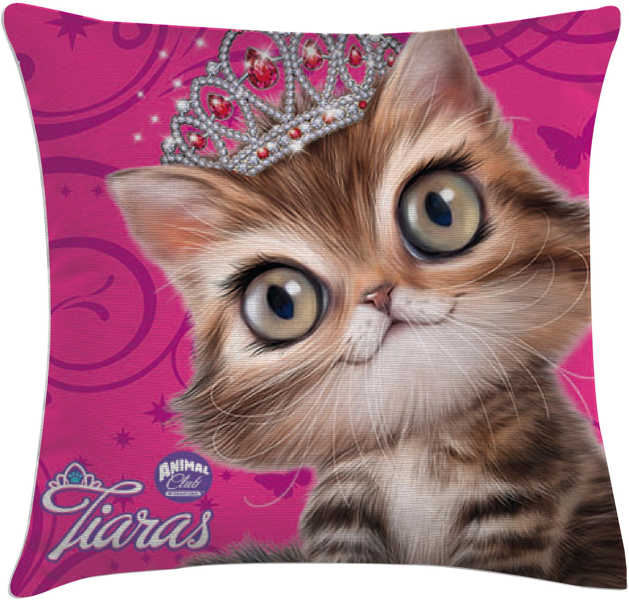 Dekokissen Tiara Katze
