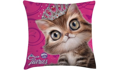 Dekokissen, »Tiara Katze«, kaufen