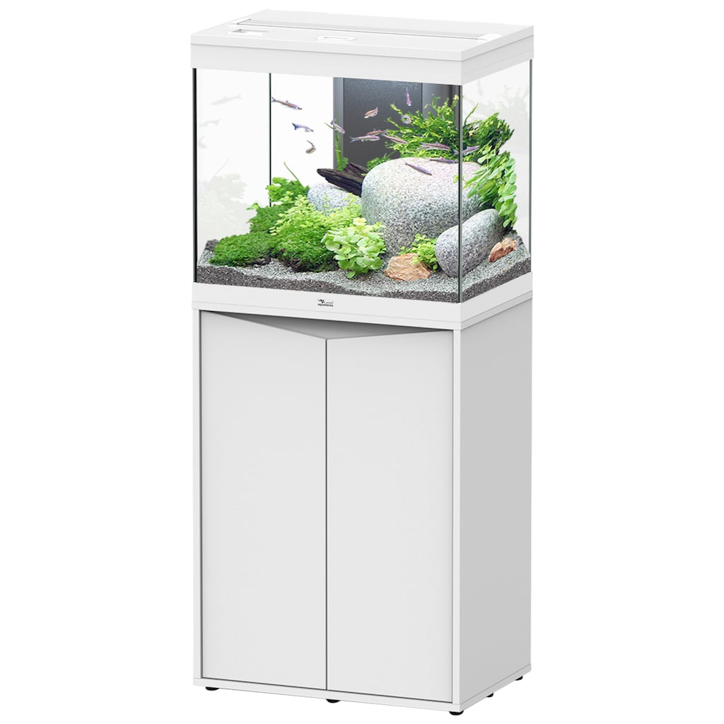 Aquatlantis Aquarien-Set »Splendid 110«, BxTxH: 60x40x139 cm, 135 l, mit Unterschrank in weiß