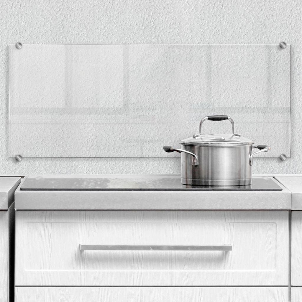 Wall-Art Küchenrückwand »Spritzschutz transparent«