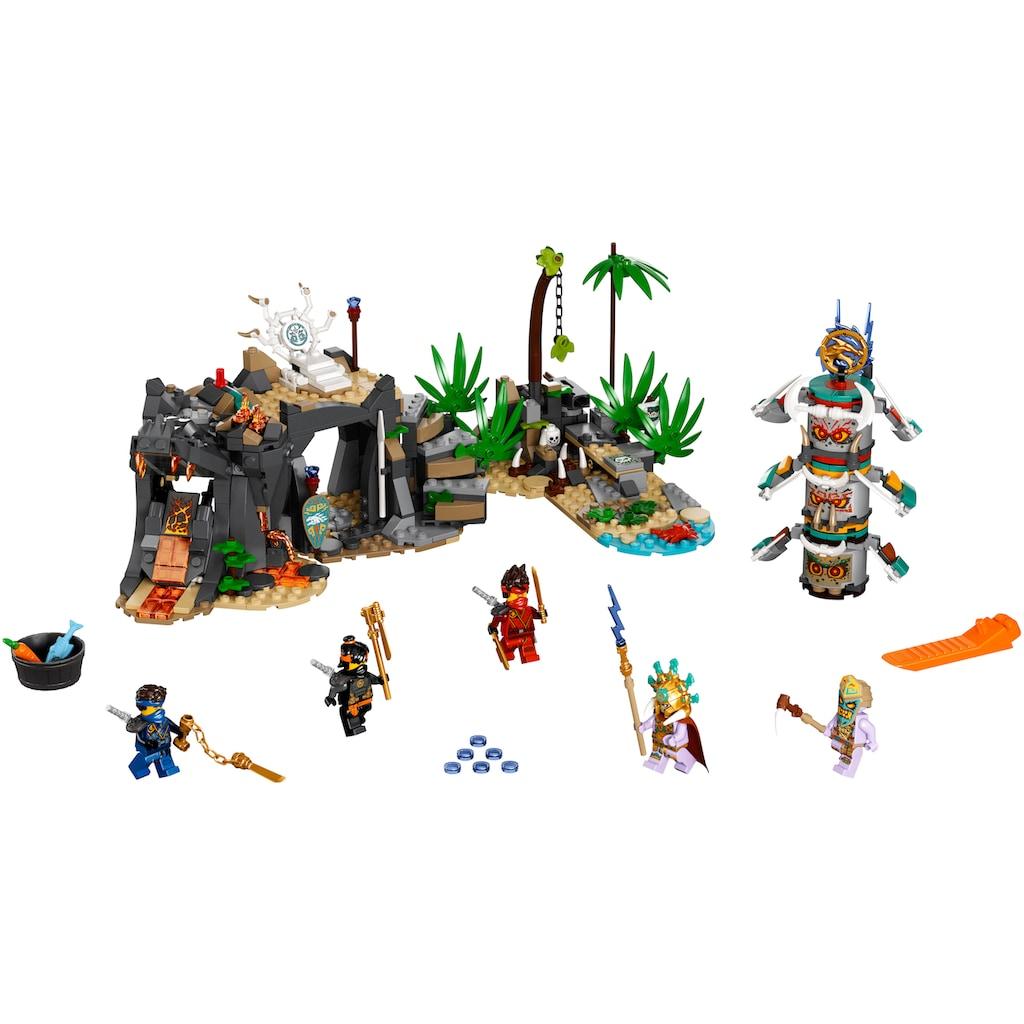 LEGO® Konstruktionsspielsteine »Das Dorf der Wächter (71747), LEGO® NINJAGO®«, (632 St.), Made in Europe