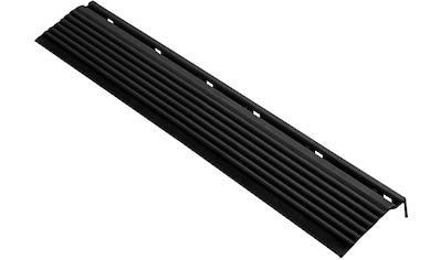 FLORCO Kantenleisten Seitenteil schwarz, 40 cm, 4 Stück kaufen