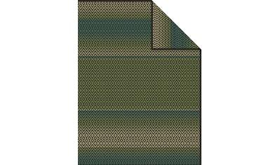 IBENA Wohndecke »Jacquard Decke Granby«, mit Zackenmuster kaufen