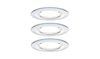 Paulmann,LED Einbaustrahler»starr Nova rund Chrom 3x6,5W 3 - Stufen - dimmbar«, kaufen