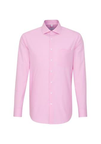 seidensticker Businesshemd »Regular«, Regular Langarm Kentkragen Karo kaufen