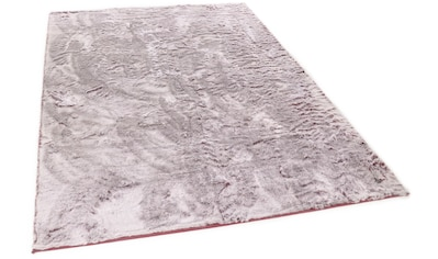 Fellteppich, »Furry«, TOM TAILOR, rechteckig, Höhe 25 mm, maschinell zusammengesetzt kaufen