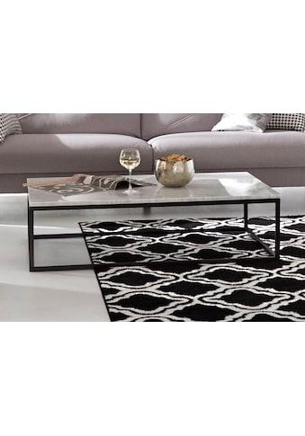 TemaHome Couchtisch »Prarie«, mit einer Marmor Tischplatte in unterschiedlichen Farbvarianten der Tischplatte und des Beingestelles, Breite 120 cm kaufen