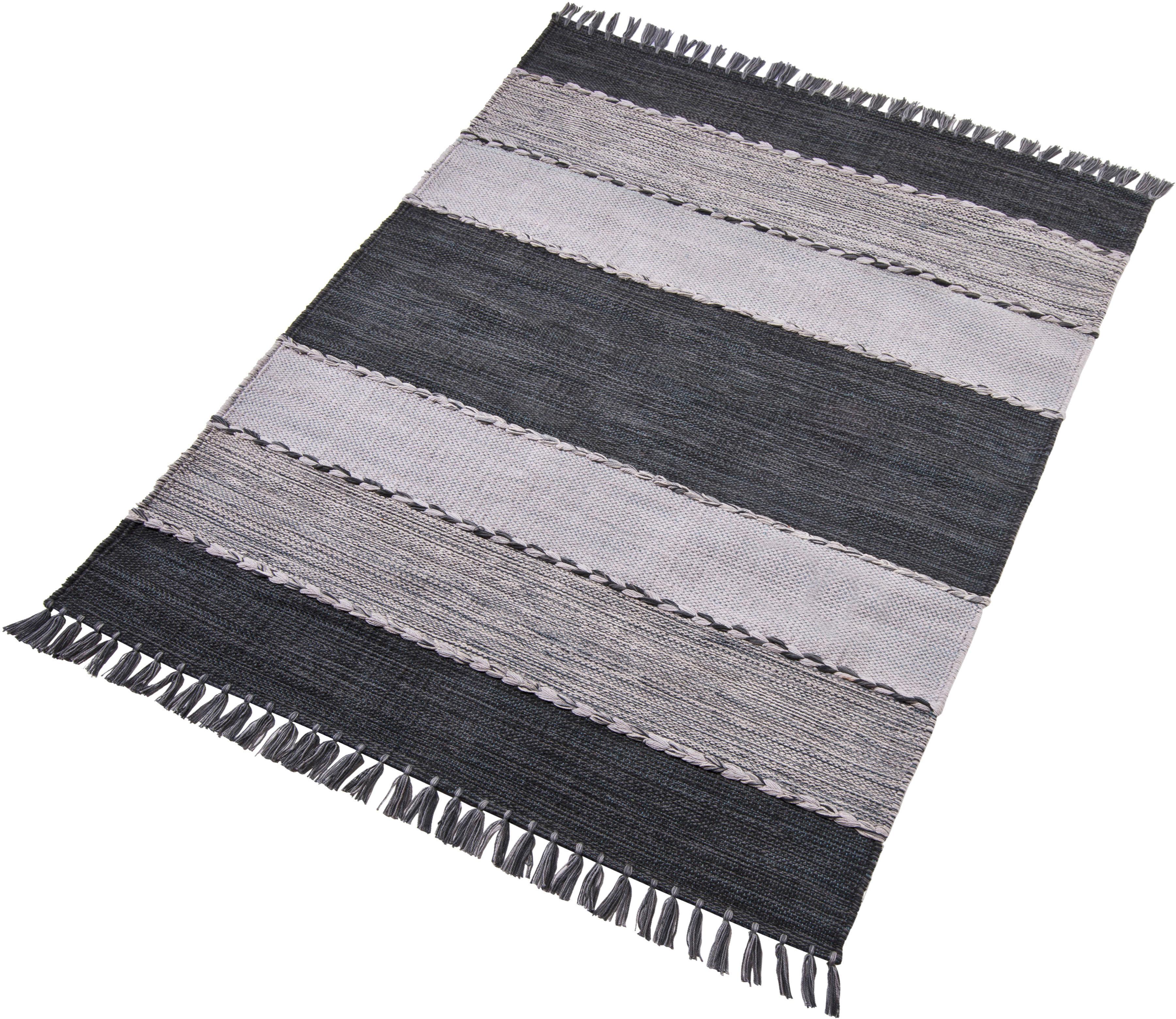 Teppich Eden Home affaire Collection rechteckig Höhe 5 mm handgewebt