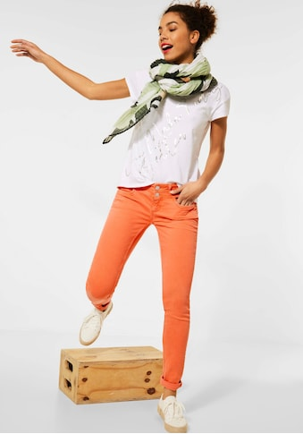 STREET ONE Slim-fit-Jeans »Crissi«, mit Passen vorne und hinten kaufen