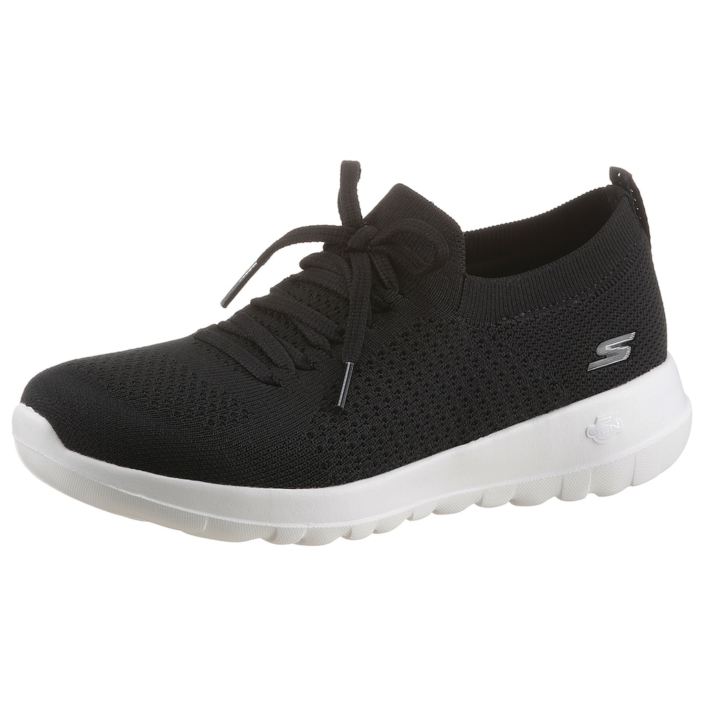 Skechers Slip-On Sneaker »GO WALK JOY«, mit aufgesetzter Schnürung