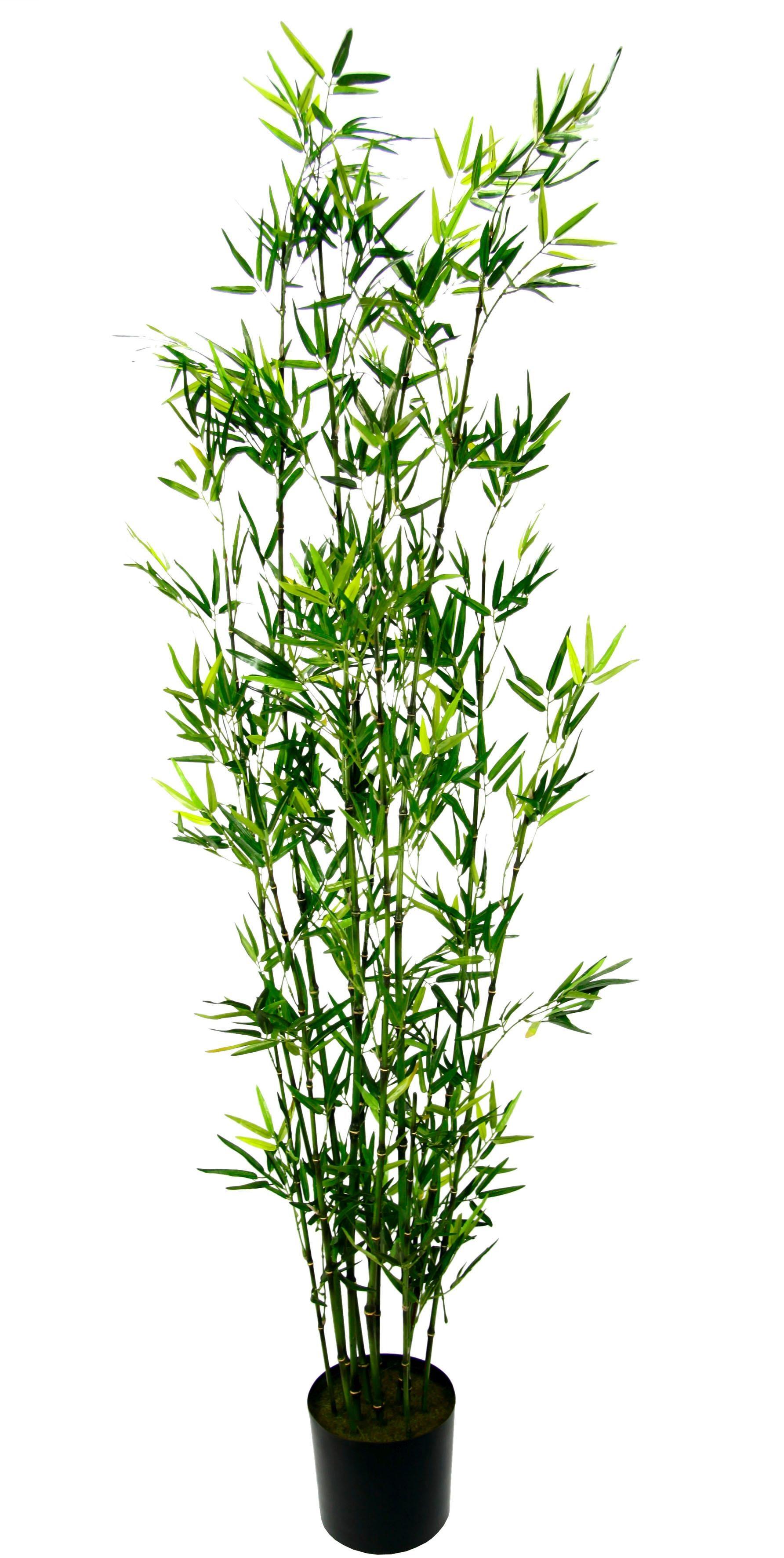 I.GE.A. Kunstpflanze Bambus im Topf grün Künstliche Zimmerpflanzen Kunstpflanzen Wohnaccessoires
