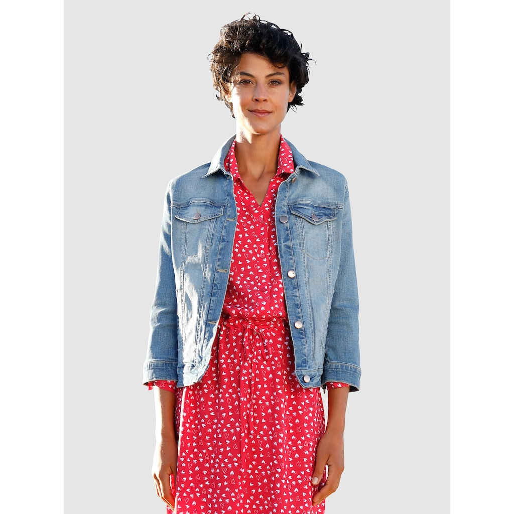Dress In Jeansjacke, in moderner Waschung