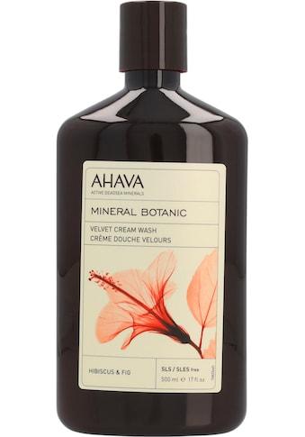 AHAVA Duschgel »Mineral Botanic Mineral Botanic Cream Wash Hibiscus« kaufen