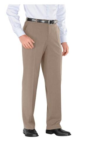 Classic Hose mit gepflegten Bügelfalten vorne und hinten kaufen