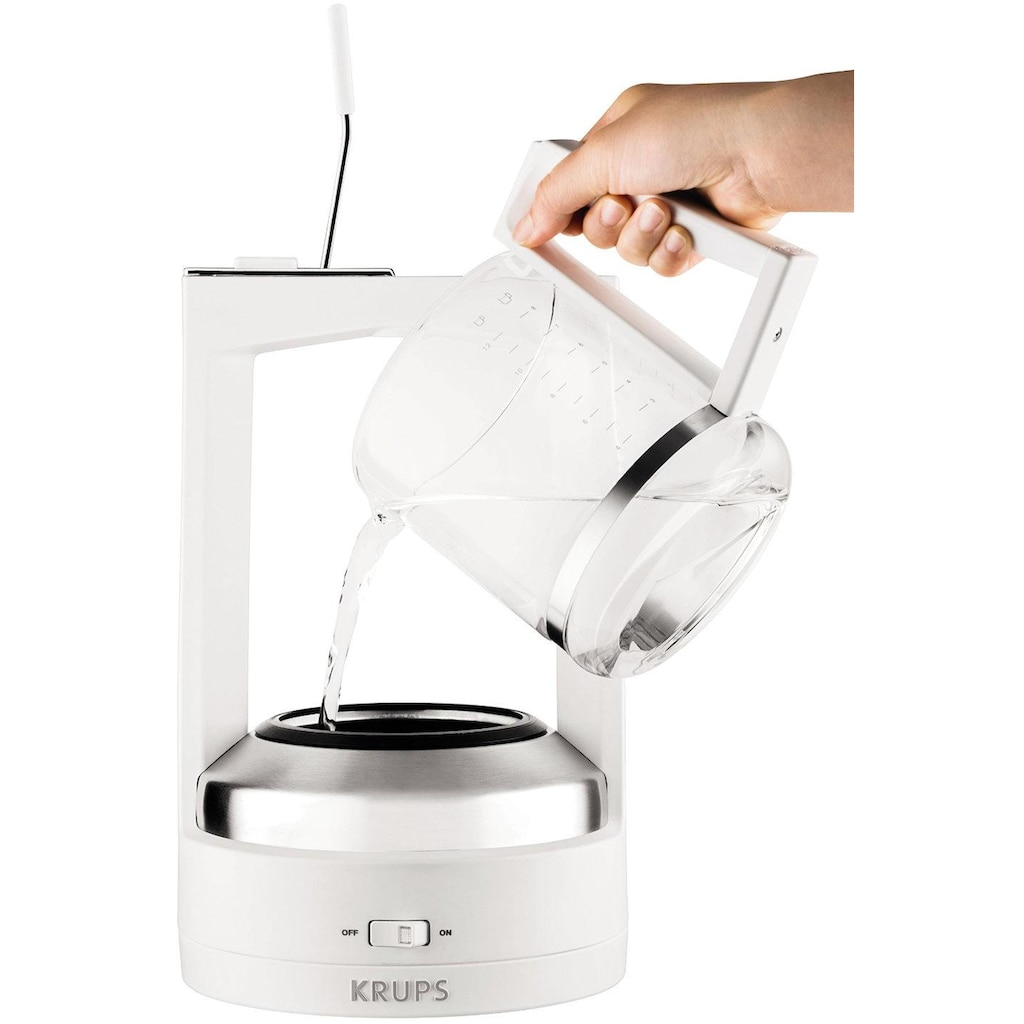 Krups Druckbrüh-Kaffeemaschine »KM4682 T 8.2«, Permanentfilter