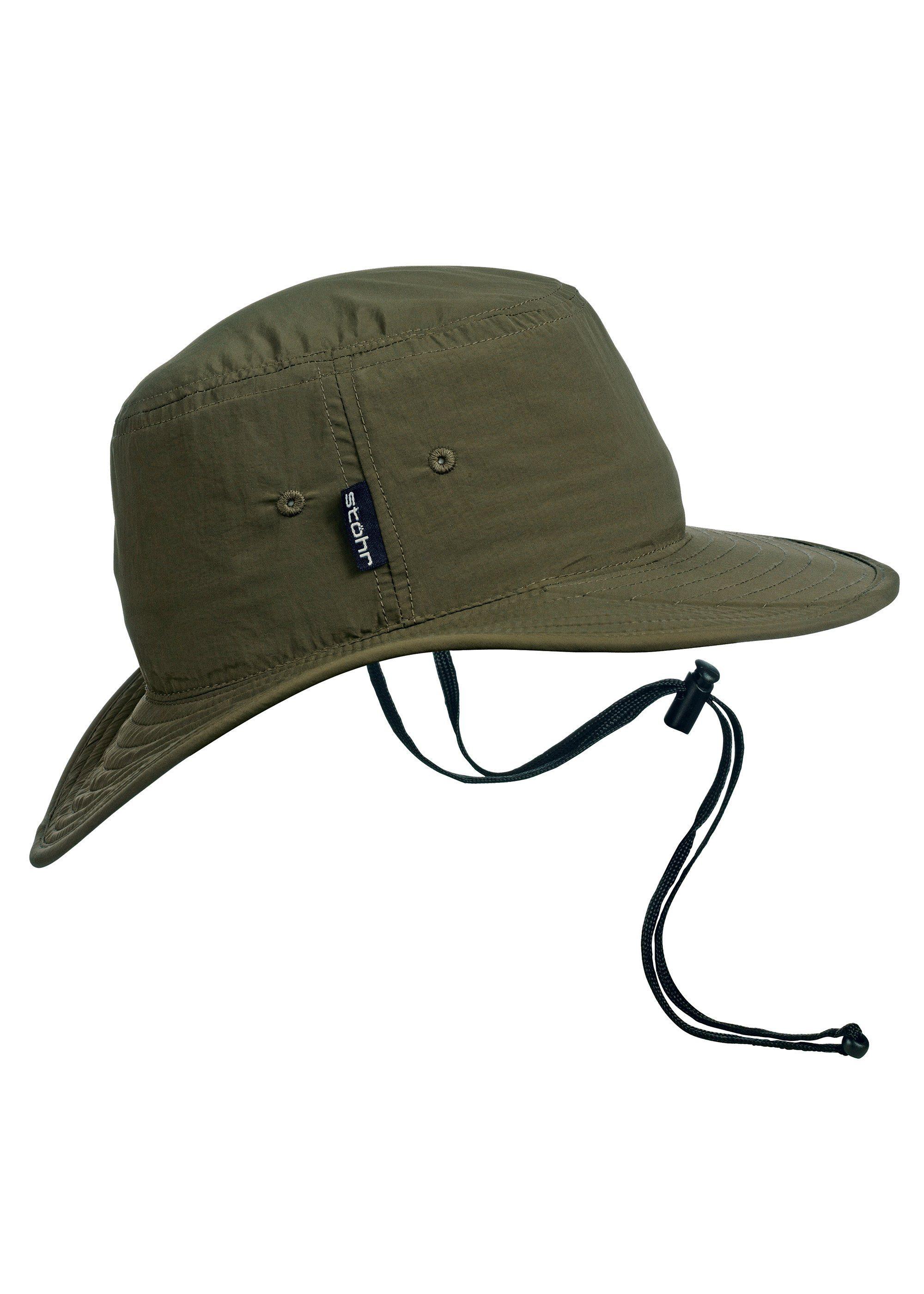 Stöhr Hut mit eingearbeitetem Schild in der Krempe | Accessoires > Hüte | Grün | Stöhr