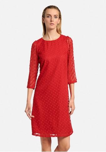 Uta Raasch Sommerkleid »mit 3/4-Arm«, mit transparenten Ärmeln kaufen