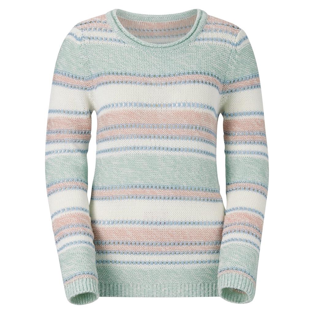 Casual Looks Rundhalspullover »Pullover«