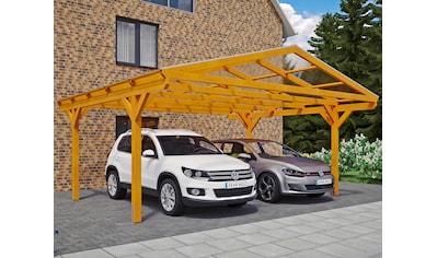 SKANHOLZ Doppelcarport »Westerwald«, BxT: 570x541 cm kaufen