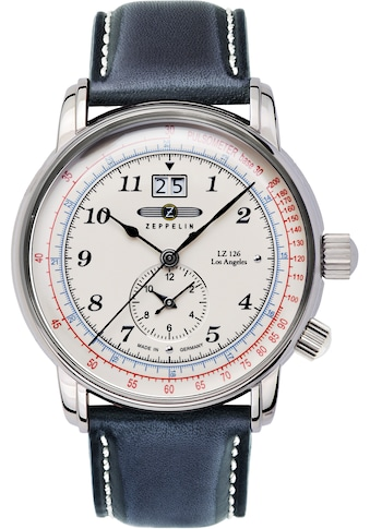 ZEPPELIN Quarzuhr »Los Angeles, Dual Time, 8644 - 1O« kaufen