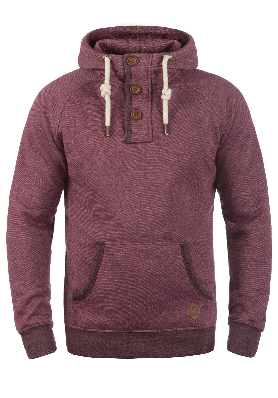 Solid Hoodie Vitu | Bekleidung > Pullover > Kapuzenpullover | Rot | Solid