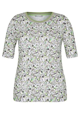 Rabe T-Shirt, mit grafischem Muster und Kontrastbesatz kaufen