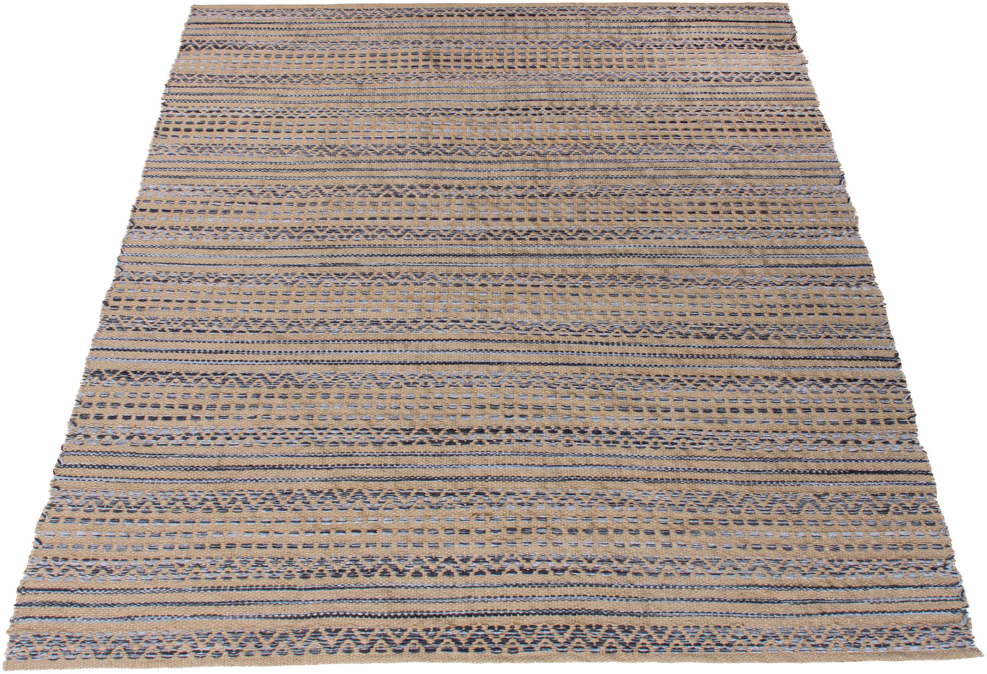 Teppich Marius OTTO products rechteckig Höhe 14 mm handgewebt