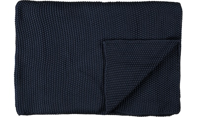 Marc O'Polo Home Plaid »Nordic Knit«, Strickoptik kaufen
