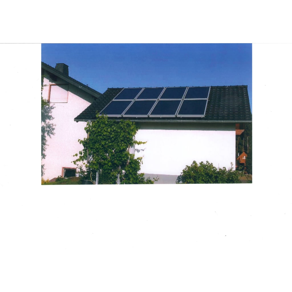 Sunset Solarmodul »SUNone 10 HZ/1 mit 1000 l-Hygienespeicher«, zur Brauchwassererwärmung und Heizungsunterstützung