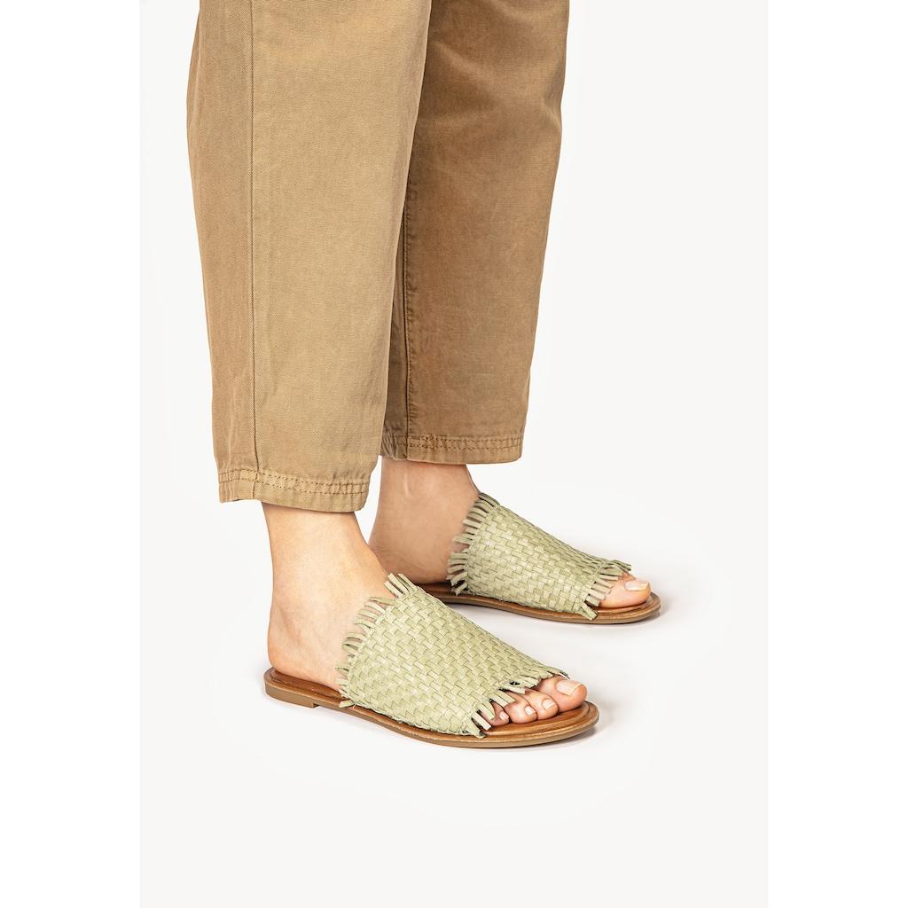 INUOVO Pantolette »Leder«