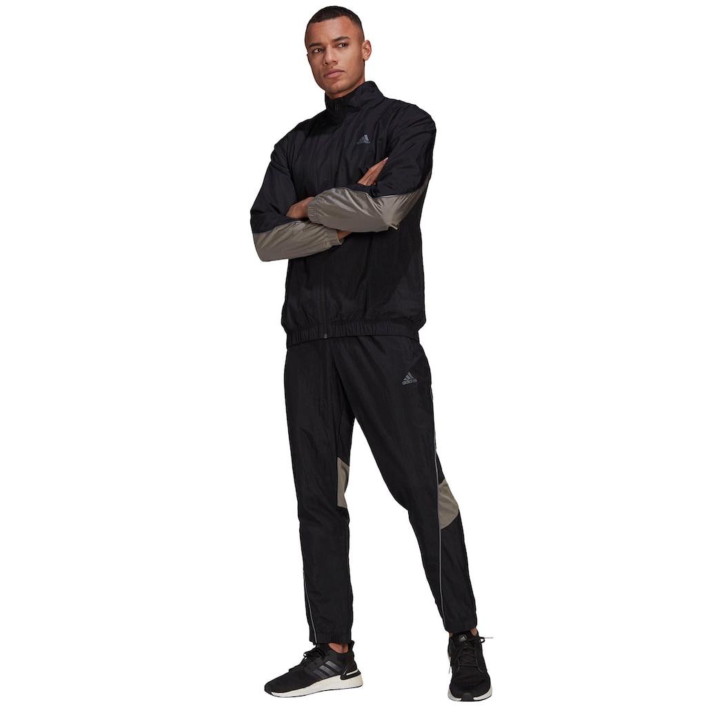 adidas Performance Trainingsanzug »adidas Sportswear Metallic Inserts Tracksuit«, (Set, 2 tlg.)