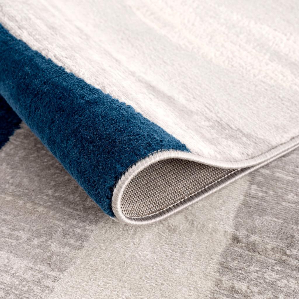 Sehrazat Orientteppich »Montana 3762«, rechteckig, 8 mm Höhe, Wohnzimmer, Kurzflorteppich