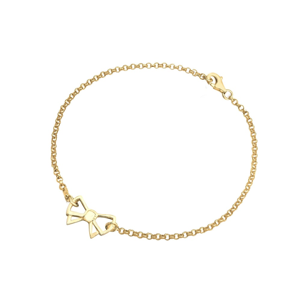 Elli Armband »Schleife 925 Sterling Silber«
