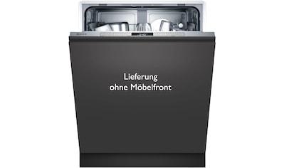 NEFF vollintegrierbarer Geschirrspüler »S155HTX15E«, N 50, S155HTX15E, 12 Maßgedecke kaufen