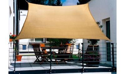 Floracord Sonnensegel, BxT: 270x140 cm, weizenfarben kaufen