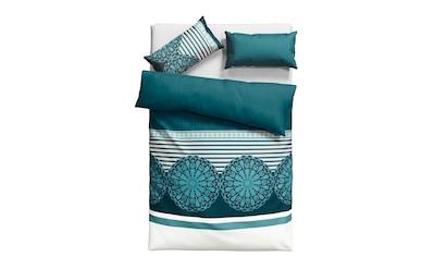 Home affaire Bettwäsche »Arabella«, mit extravaganten Kreisen und Streifen kaufen