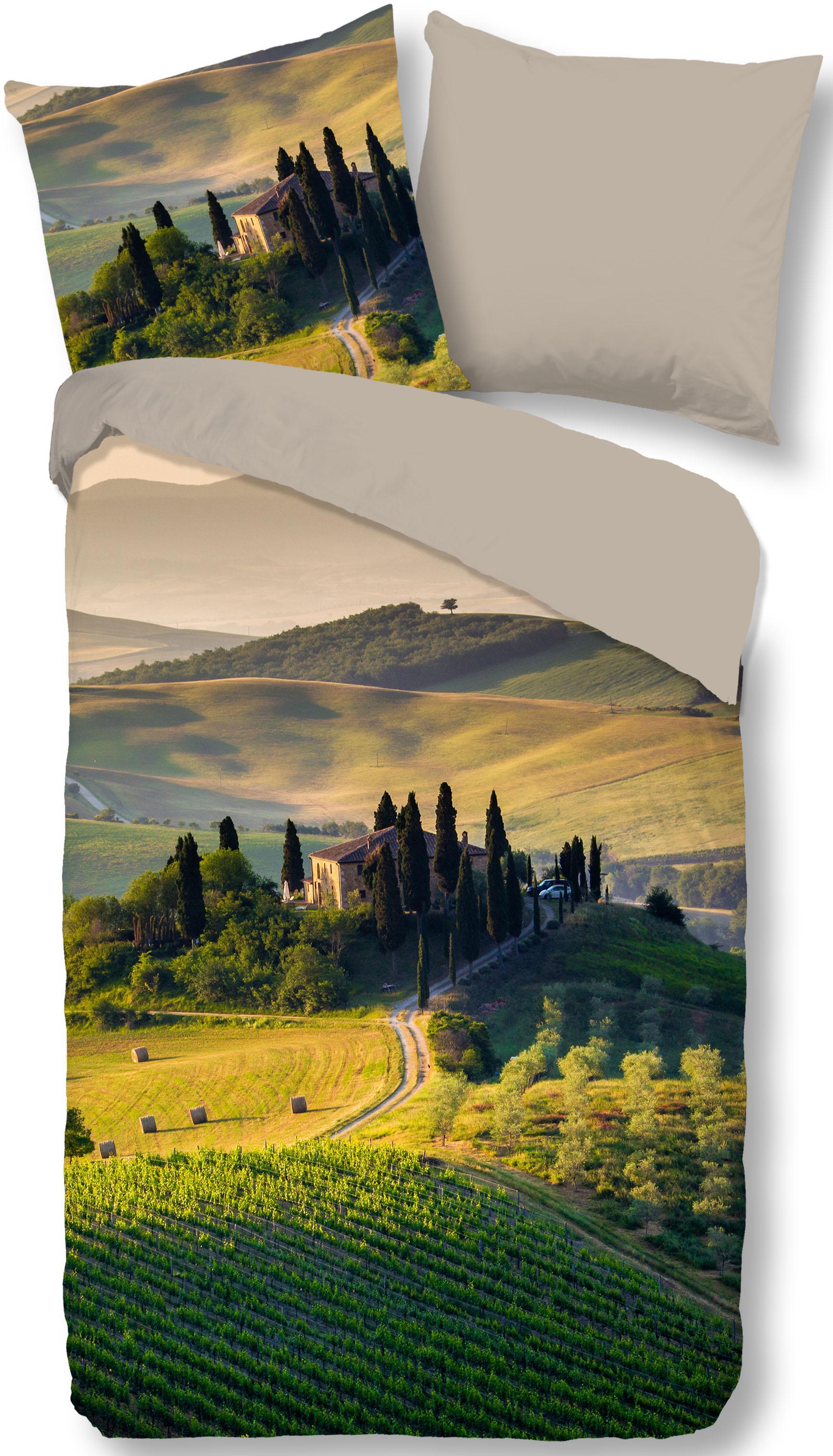 Wendebettwäsche Tuscan good morning