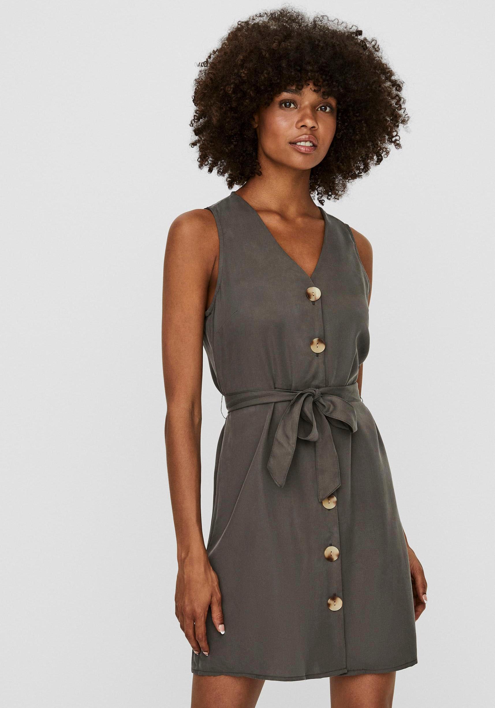 vero moda -  Jeanskleid VMVIVIANA SHORT DRESS