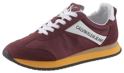 Calvin Klein Plateausneaker »Jill«, im tollen Kontrastlook kaufen
