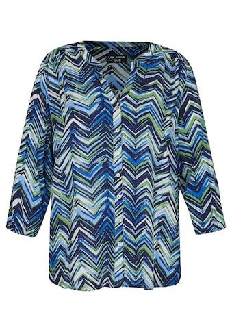 VIA APPIA DUE Shirtbluse, mit buntem Zick-Zack-Muster kaufen
